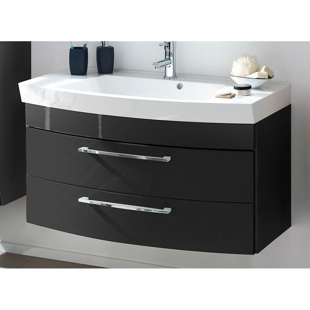waschplatz ramin001 in anthrazit hochglanz anthrazit 449 00. Black Bedroom Furniture Sets. Home Design Ideas