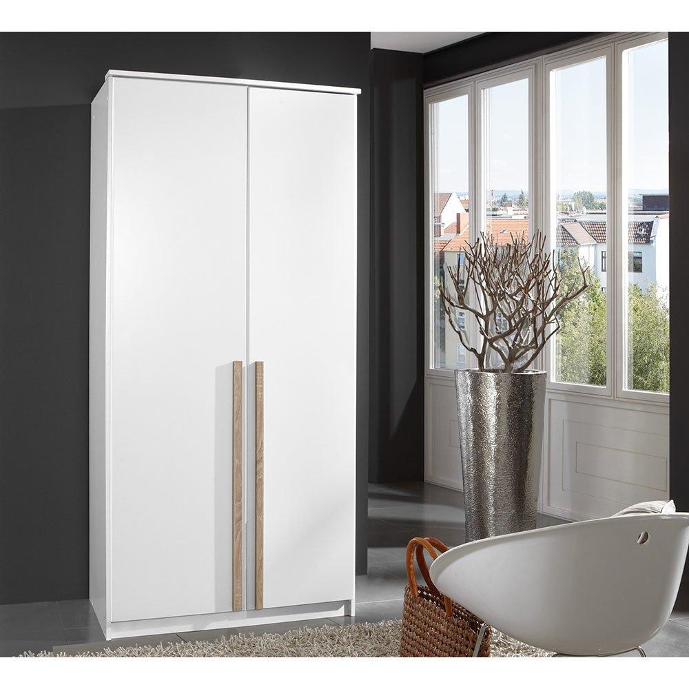 kleiderschrank roieses005 wei absetzung eiche s gerau 249 00. Black Bedroom Furniture Sets. Home Design Ideas