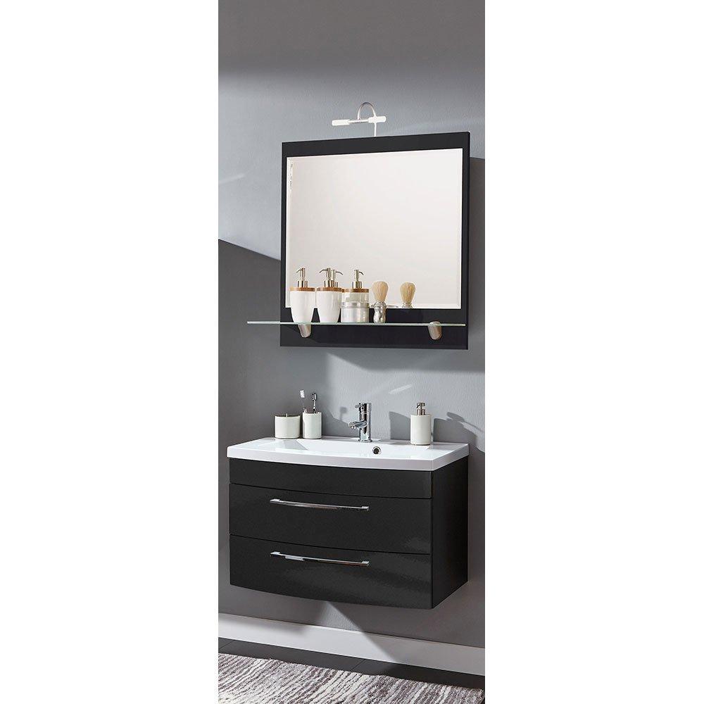 badm belset ramin001 in anthrazit hochglanz anthrazit 2 teilig 489 00. Black Bedroom Furniture Sets. Home Design Ideas
