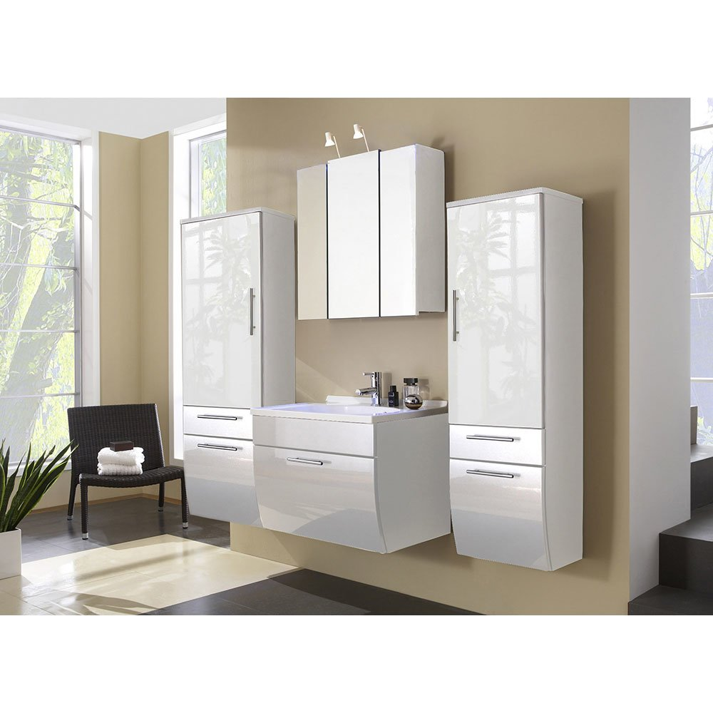 badm belset salenas005 in wei hochglanz wei 4 teilig 869 00. Black Bedroom Furniture Sets. Home Design Ideas