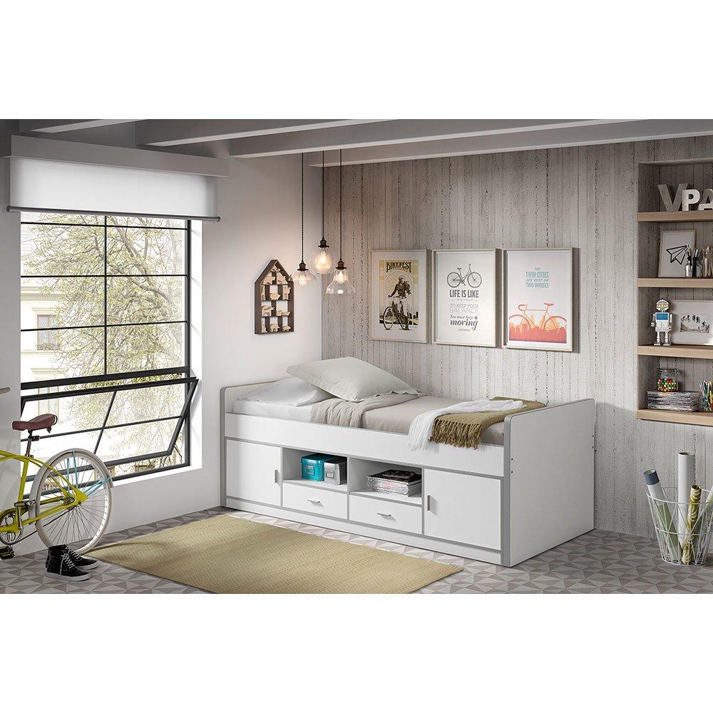 kojenbett lonnie006 in wei 443 90. Black Bedroom Furniture Sets. Home Design Ideas
