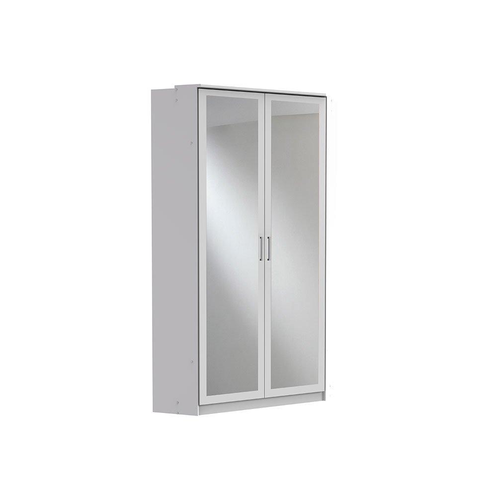 Eckkleiderschrank Clickies005 Weiß mit Spiegel, 282,90 €