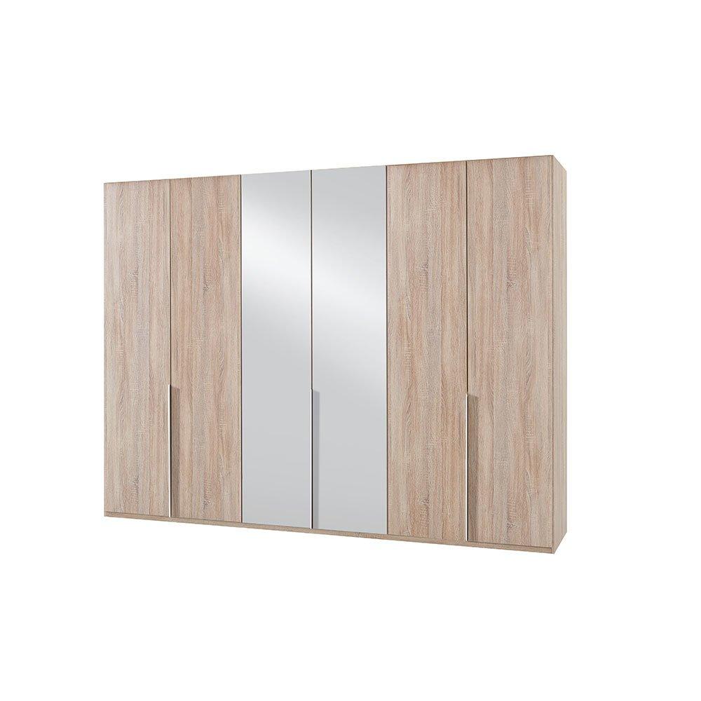 kleiderschrank bamakos a005 eiche s gerau mit spiegel 569 00. Black Bedroom Furniture Sets. Home Design Ideas
