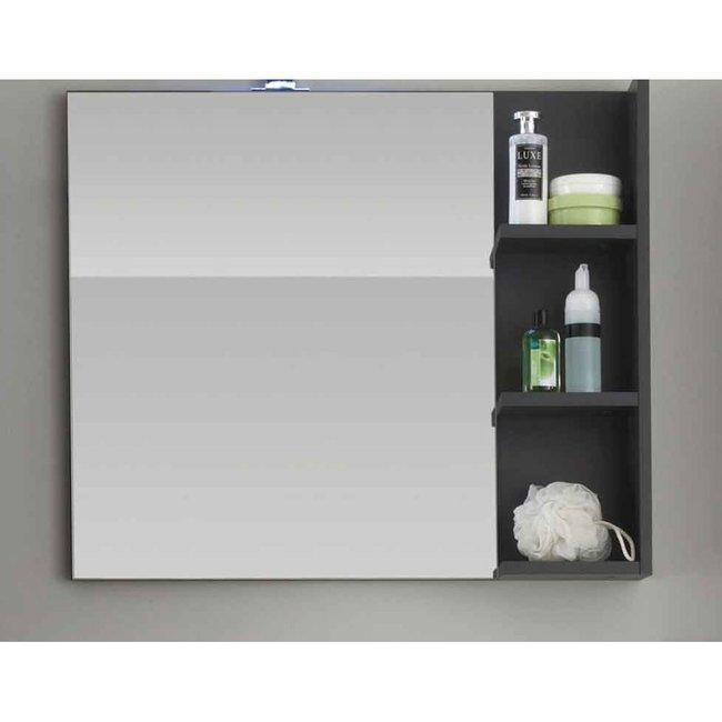 wandspiegel bechese007 grau hochglanz wei 64 00. Black Bedroom Furniture Sets. Home Design Ideas