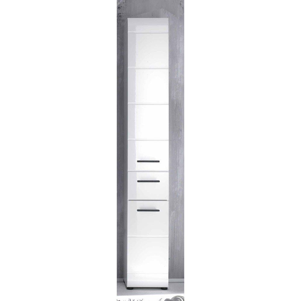 hochschrank sinies007 wei hochglanz wei 159 00. Black Bedroom Furniture Sets. Home Design Ideas