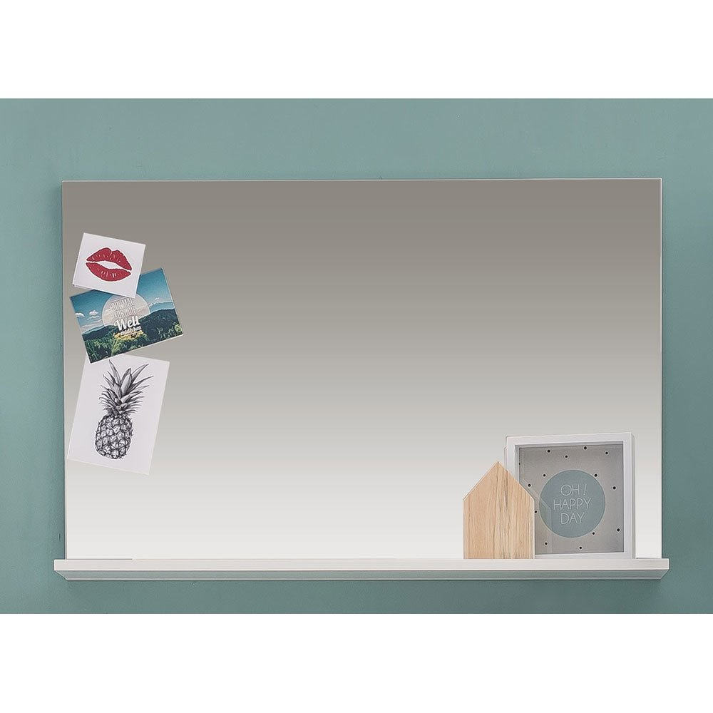 spiegel amandies007 wei hochglanz wei 99 00. Black Bedroom Furniture Sets. Home Design Ideas